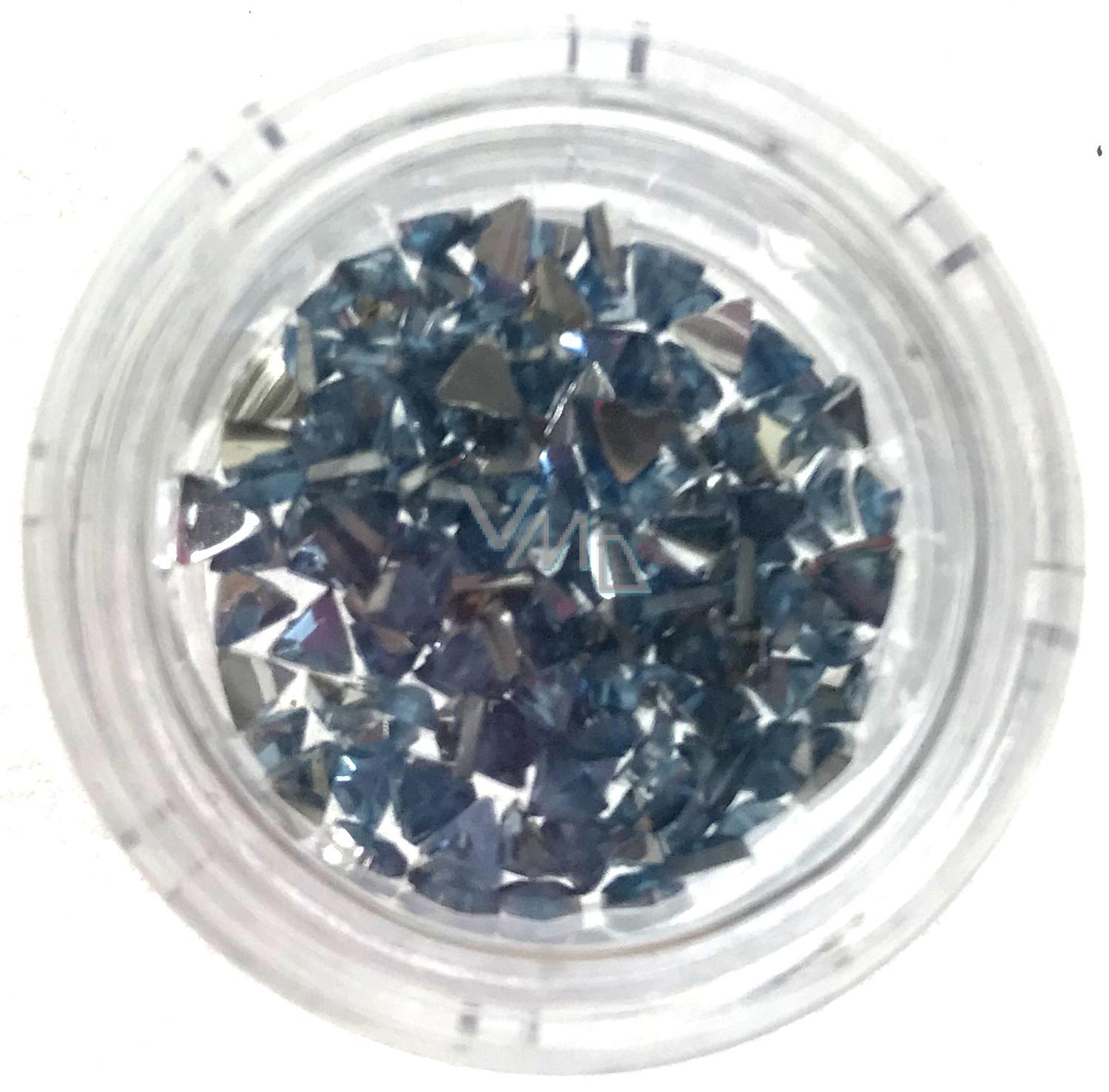Professional Ozdoby Na Nehty Kaminky Trojuhelnik Modre 132 Vmd Drogerie A Parfumerie