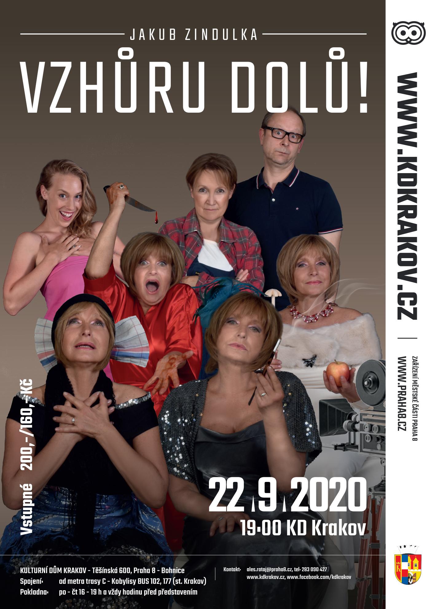 Mc Praha 8 Kalendar Akci Vzhuru Dolu