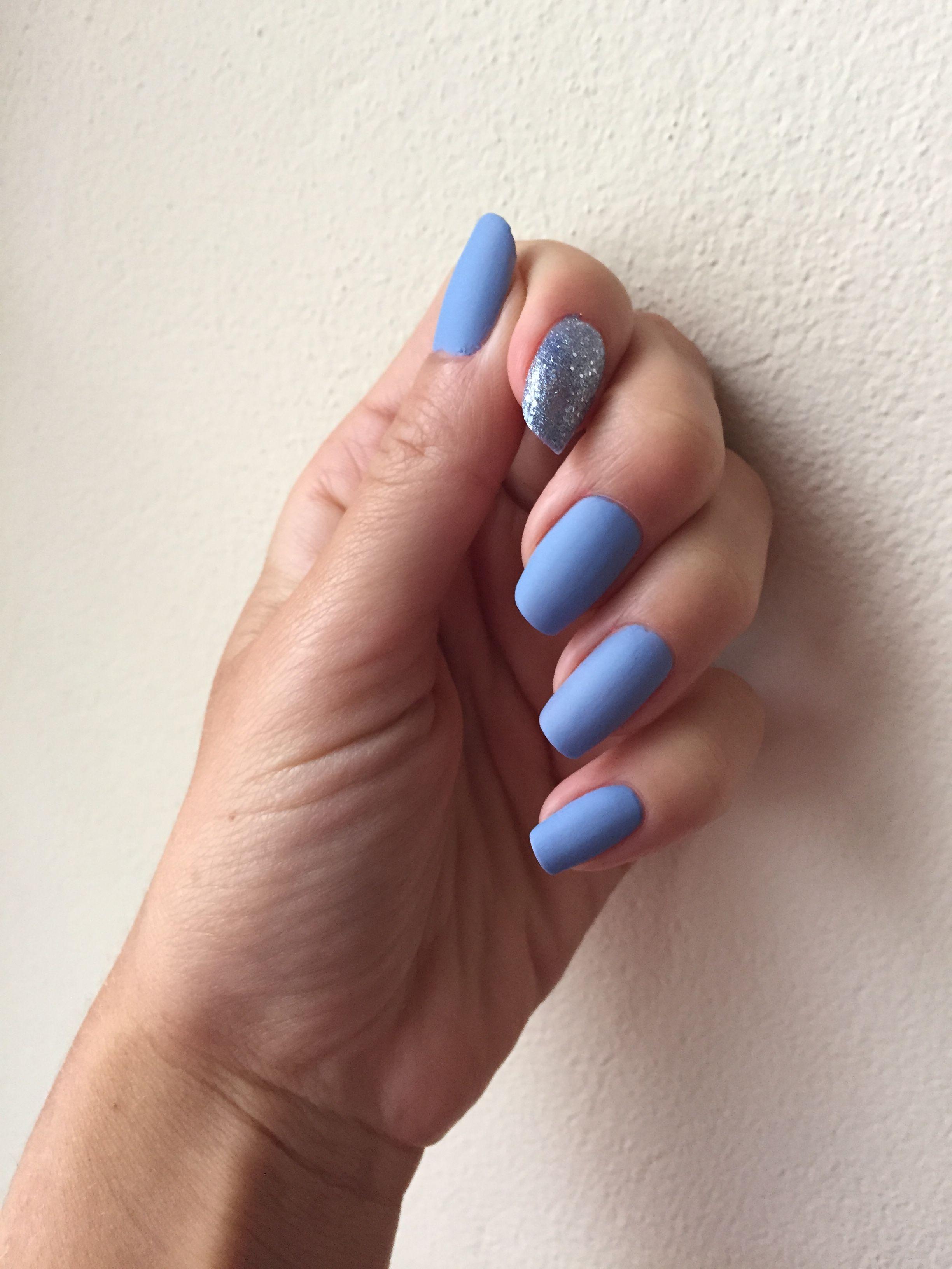 Yves Rocher 55 Bleu Aquarelle Gabriella Salvete 08 Azzurro Matte Nail Polish From Sephora Nails Matte Nail Polish Nail Polish