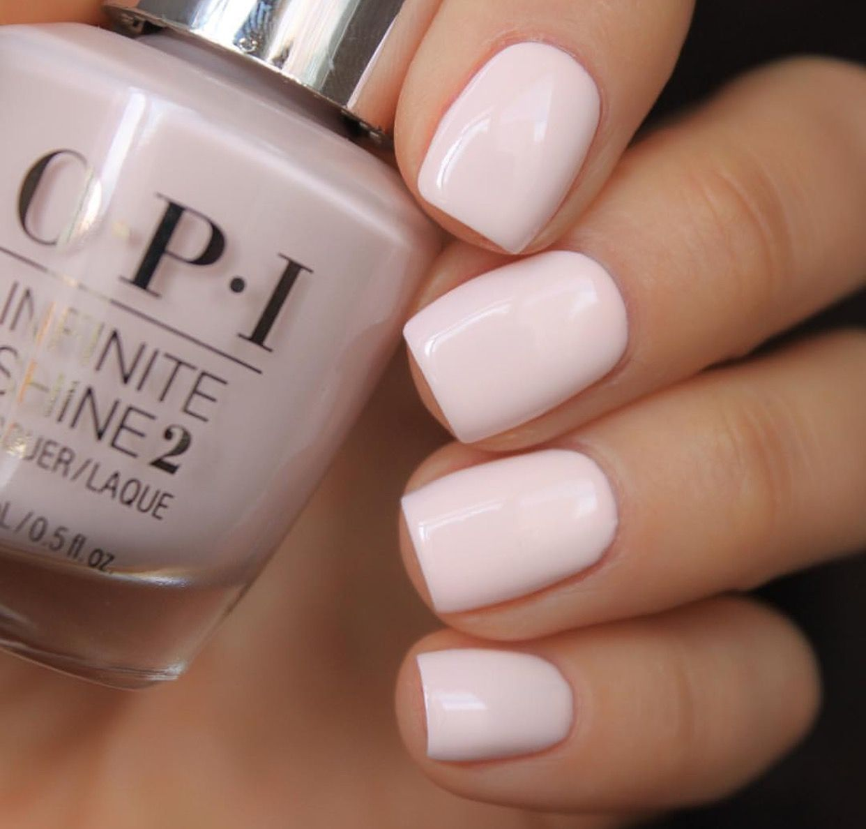 Opi Infinite Shine In It S Pink Pm Trendy Nails Pink Nails Cute Nails