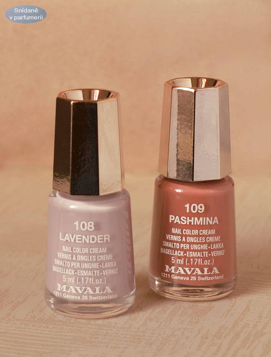 Nude Laky Mavala Matne Prekvapeni Ze Svycarska Snidane V Parfumerii