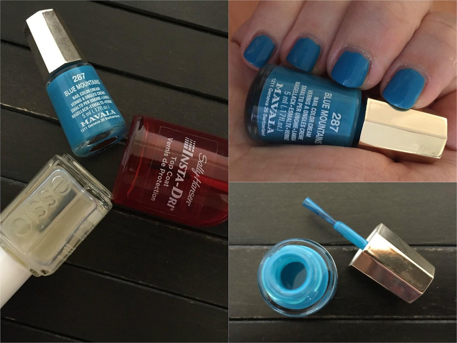 Lakoteka 22 Mavala 287 Blue Mountains Z Kolekcie Color Inspiration The Beauty Couloir