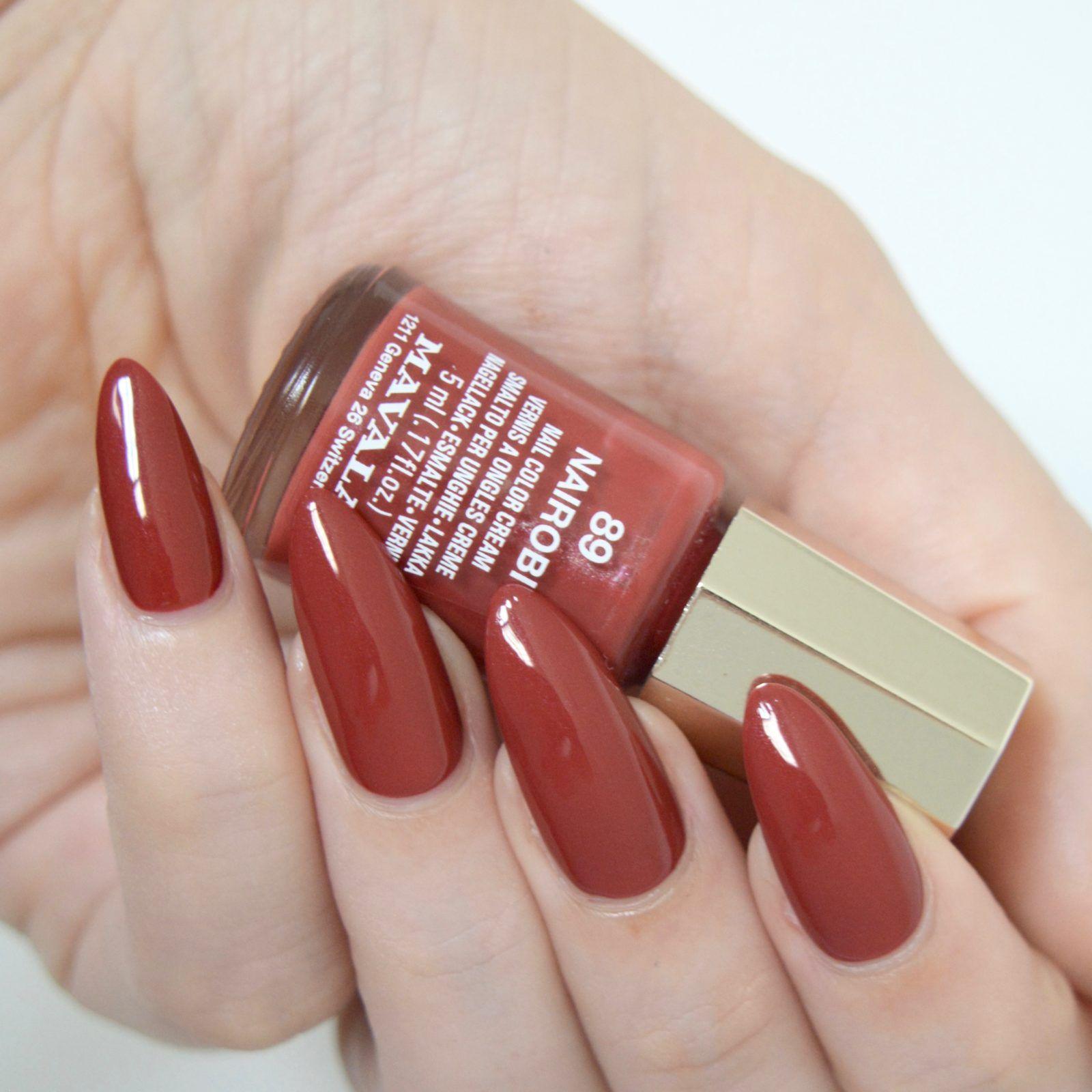 Mani Monday 3 Mavala Polishes Vintage Nails Nail Polish Simple Nails