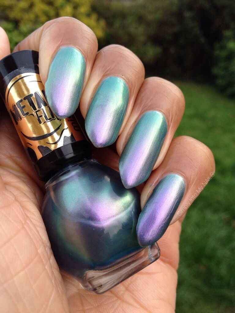 Miss Sporty Aurora Borealis Light Nails Nail Polish Cool Nail Art