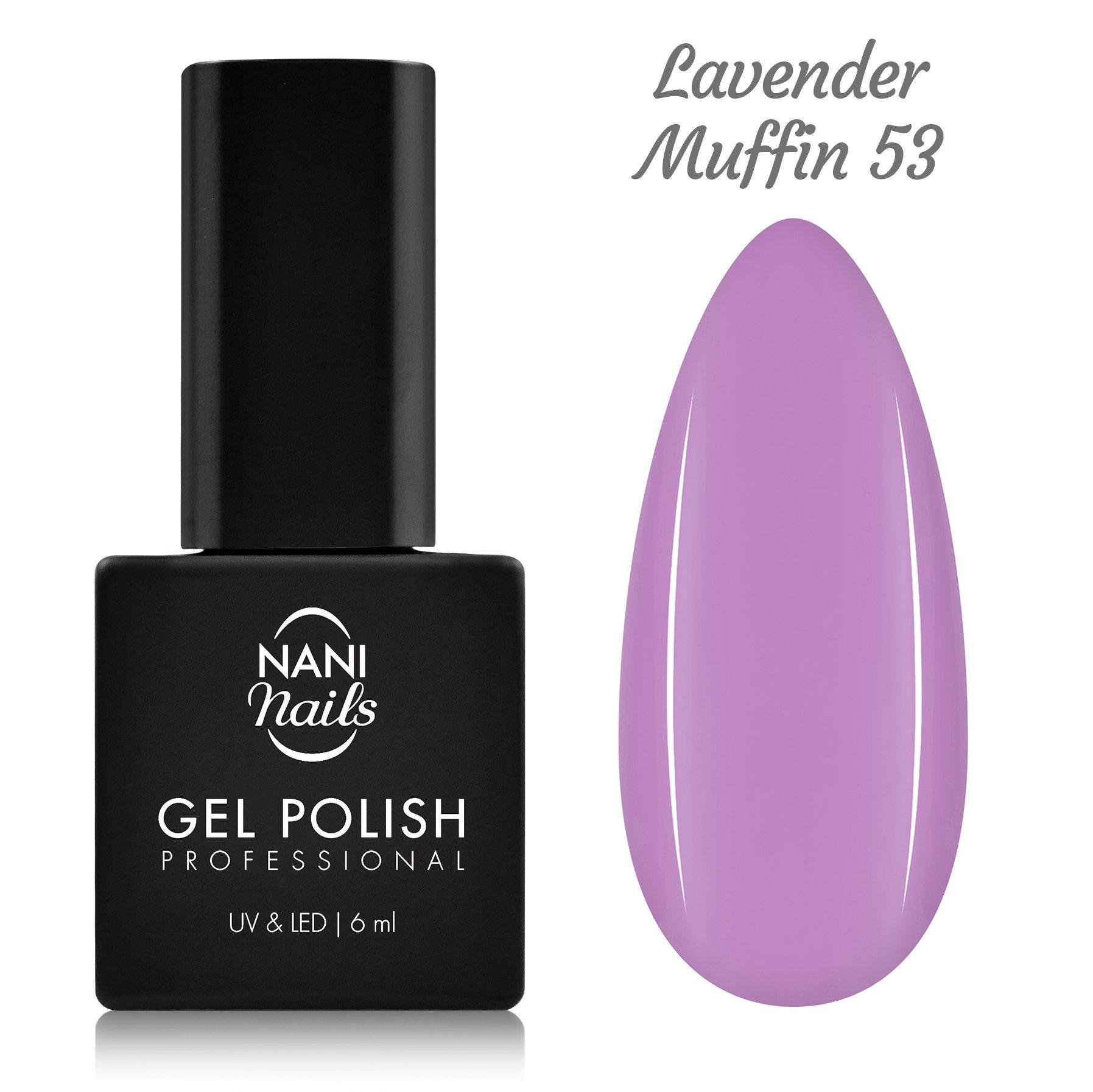 Nani Gel Lak 6 Ml Lavender Muffin Naninails Cz