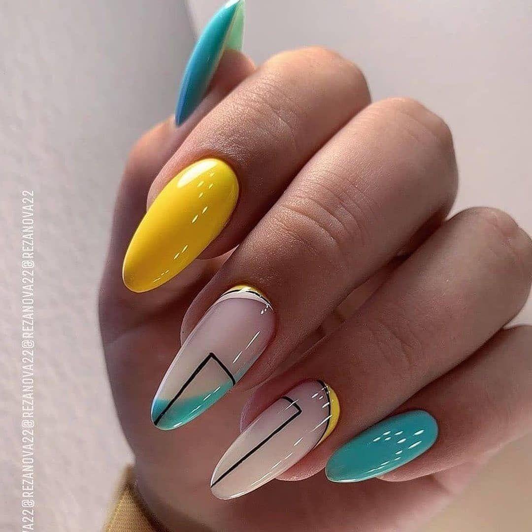 Pin Na Nastence Nehty Nails