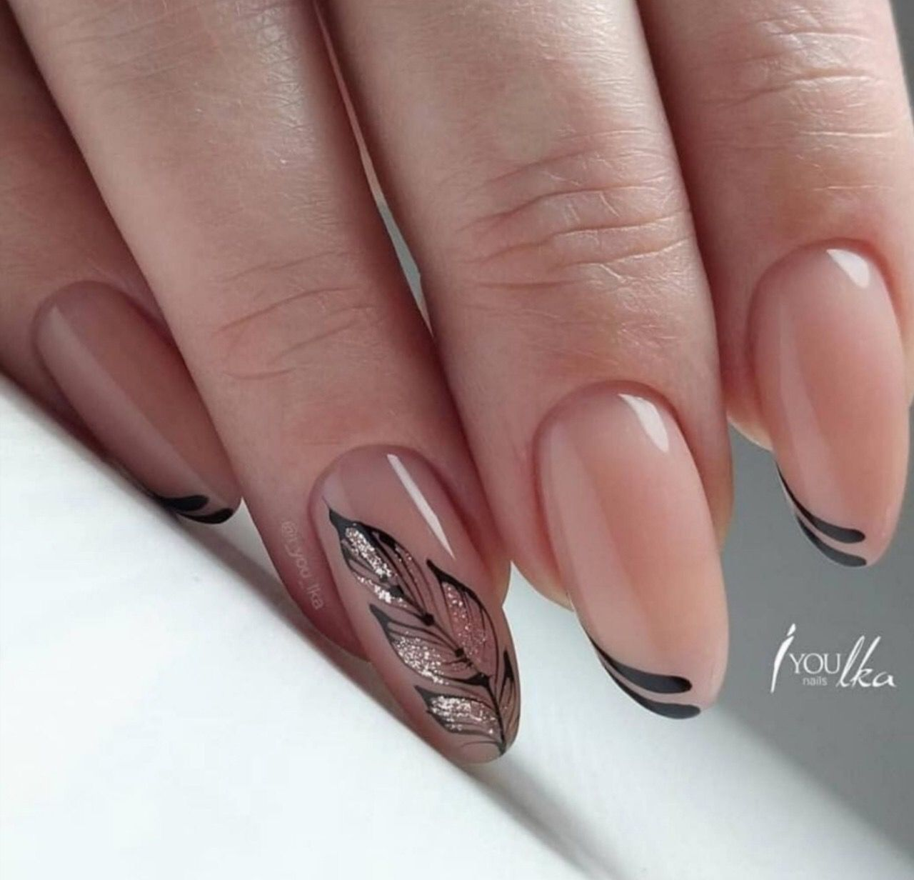 Pin By Marie Valna On Nehty Solid Color Nails Manicure Gel Nails