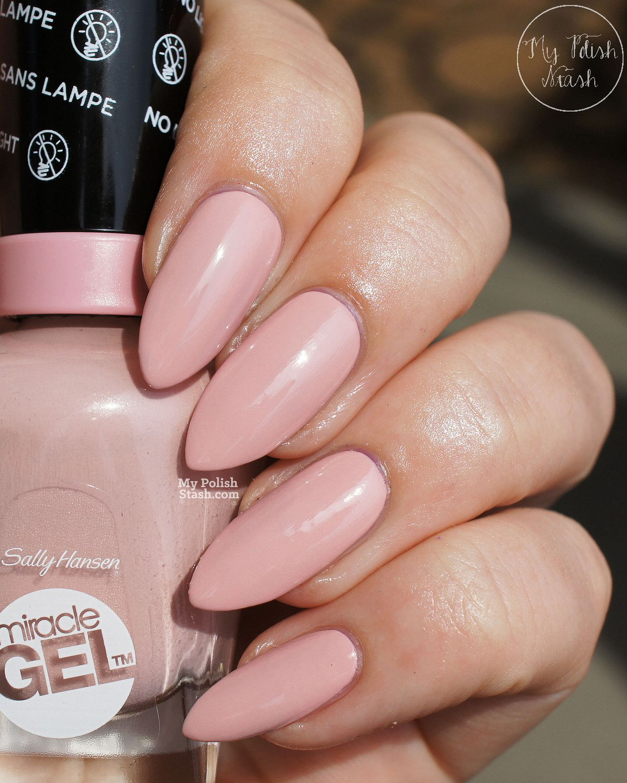 Sally Hansen Miracle Gel Pinky Promise Pink Tank Sally Hansen Miracle Gel Sally Hansen Gel Sally Hansen Miracle Gel Colors