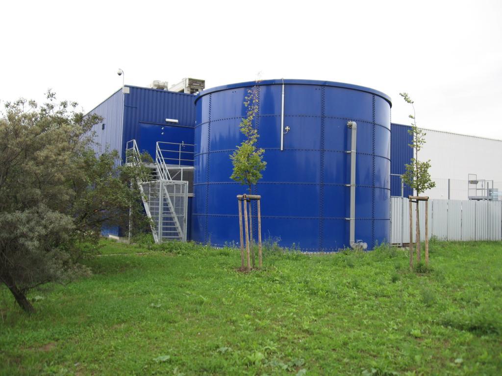 Tesco Uherske Hradiste Aliaz Steel Structures Halls Buildings Reconstruction