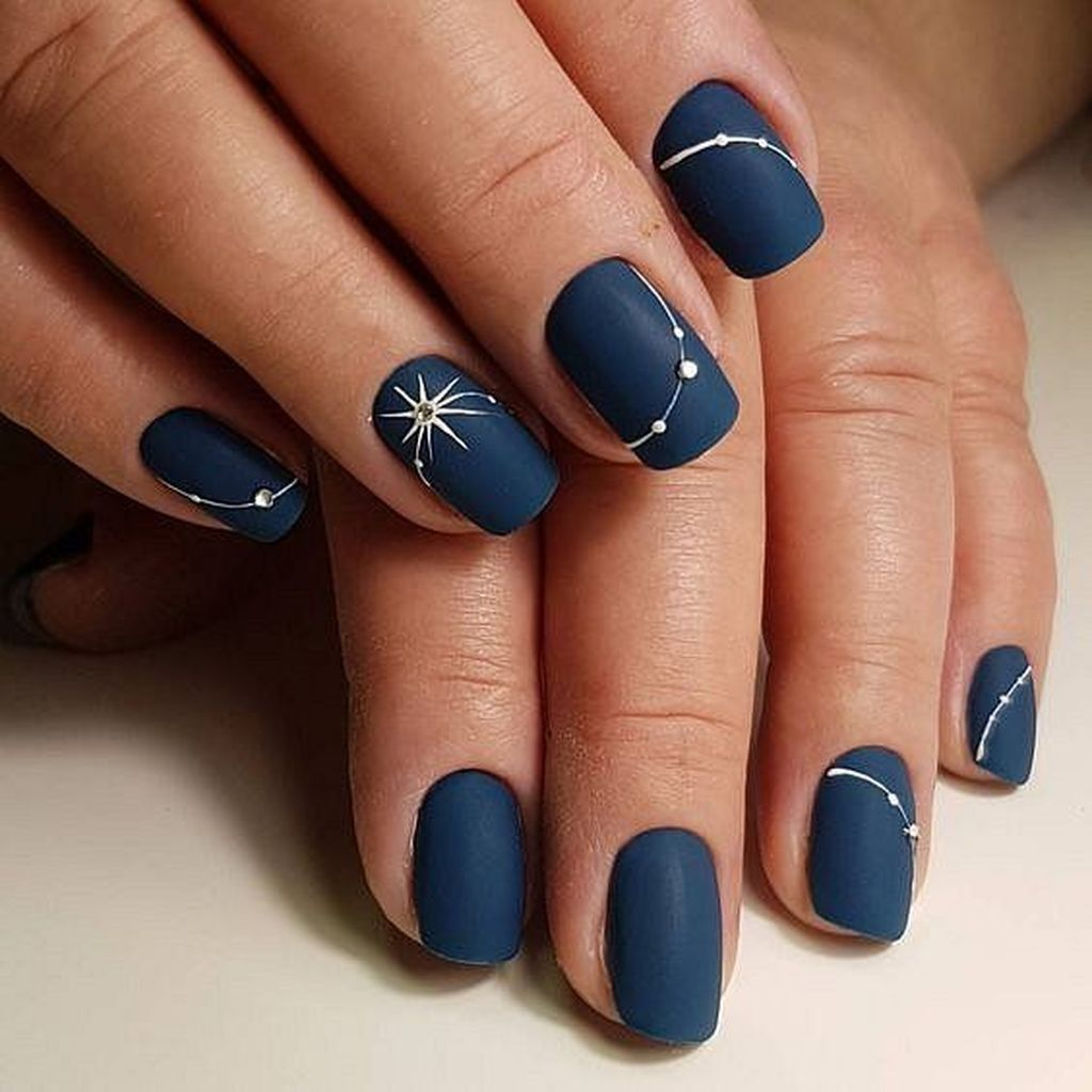 50 Exciting Ideas For New Years Nails To Warm Up Your Holiday Mood Gelove Nehty Design Nehtu Nehty