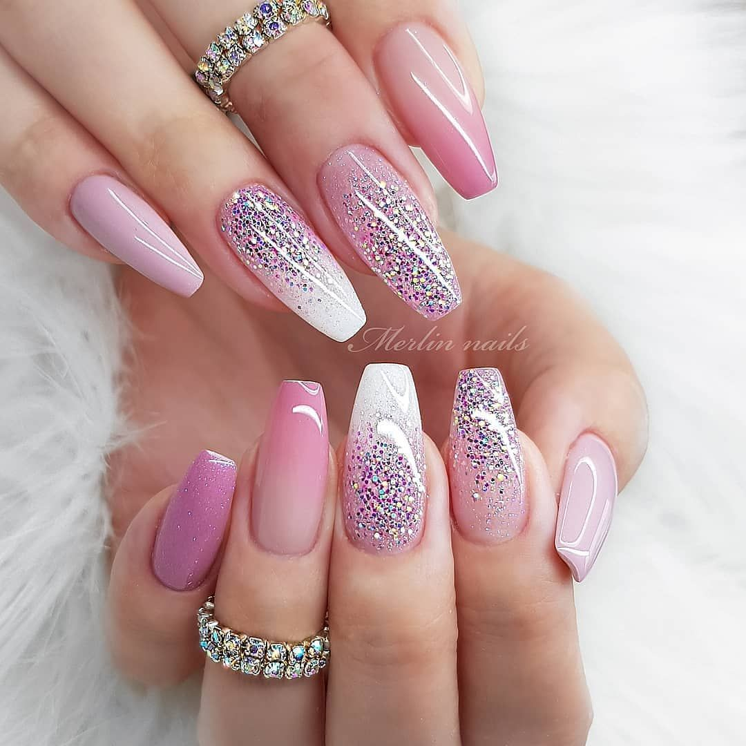 Fashion Mag On Instagram Natural Nails Gel Follow Fashionmaglovers Nail Art By Merlin Nails In 2020 Gelove Nehty Nehty Ombre