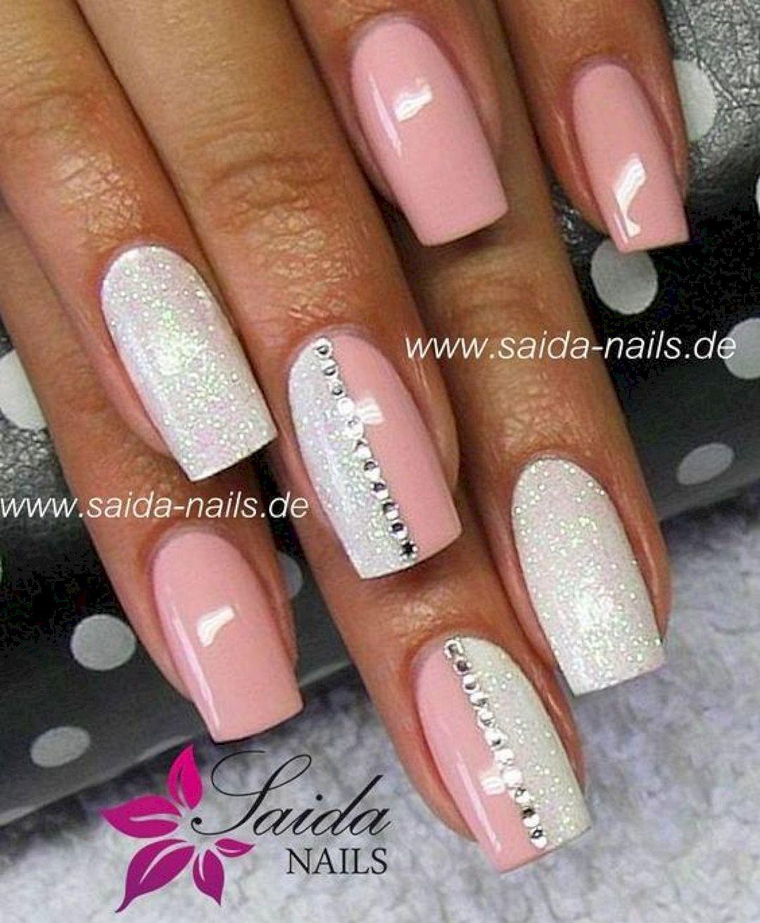 The Best So Pretty Acrylic Nails Ideas And Inspirations No 31 Gelove Nehty Namornicke Nehty Design Nehtu