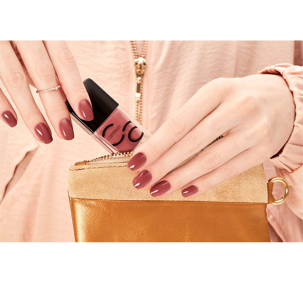 Catrice Iconails Gel Lacquer 10 Rosywood Hills 10ml In 2020 Gel Lacquer Catrice Gel