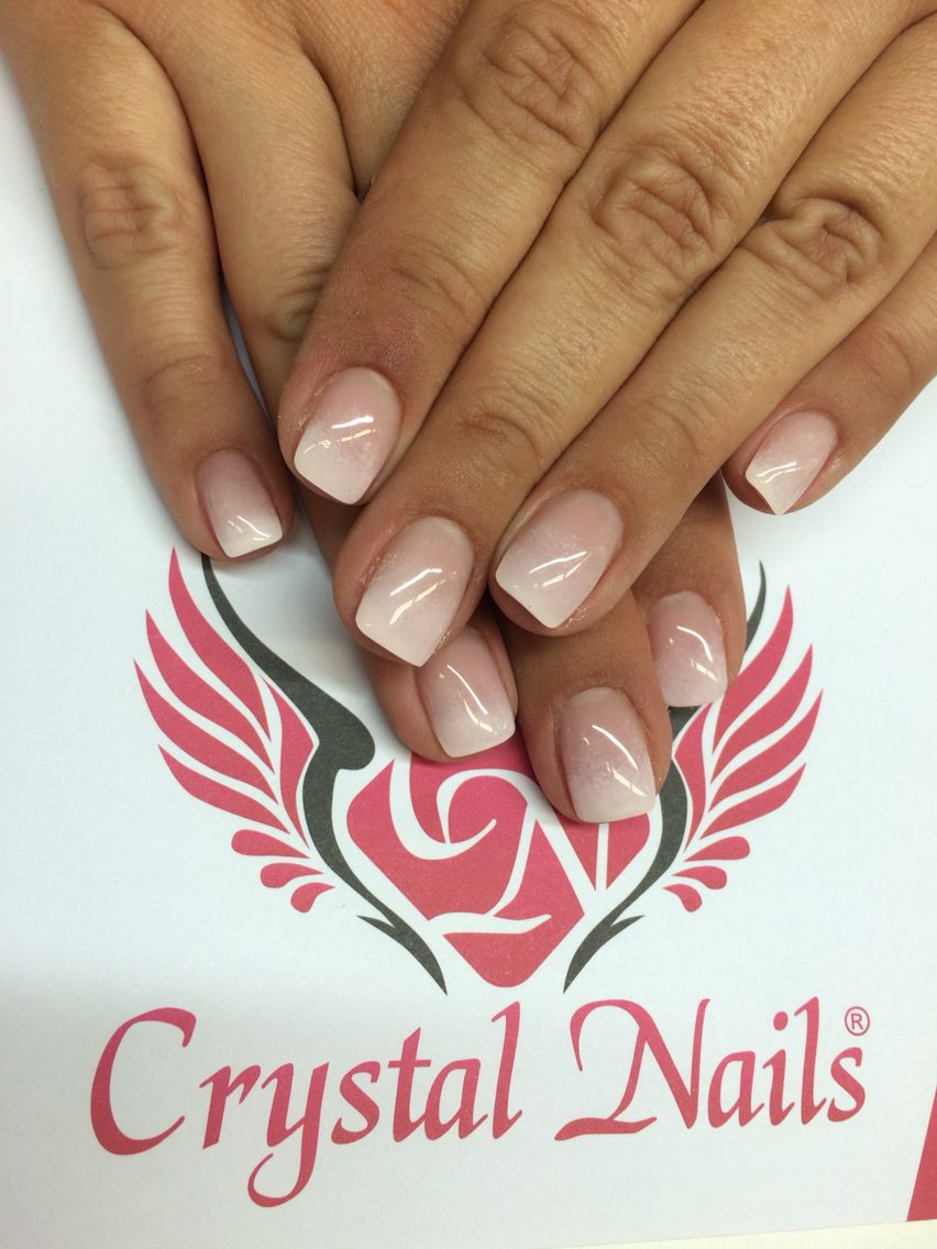 Nails Crystal Nails Nagel Color Gel Nagelstudio Nail Art Muster Gel Lac Gel Lak Gel Nagel Baby Boomer Crystal Nails Nails Nail Designs