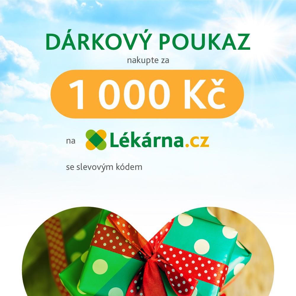 Elektronicky Darkovy Poukaz V Hodnote 1000 Kc Lekarna Cz