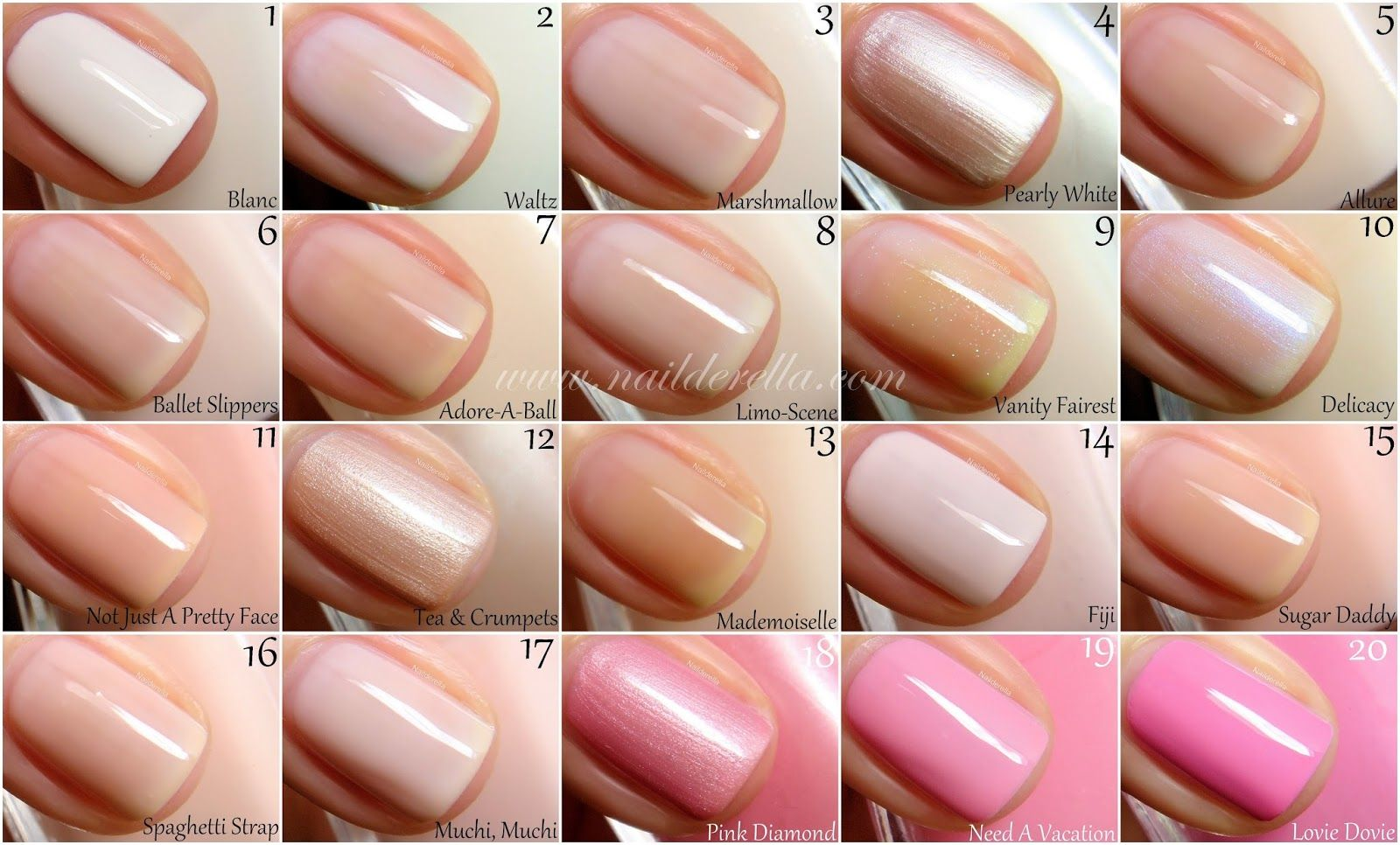Essie Color Guide 1 100 Essie Nail Polish Colors Essie Nail Colors Essie Pink Nail Polish