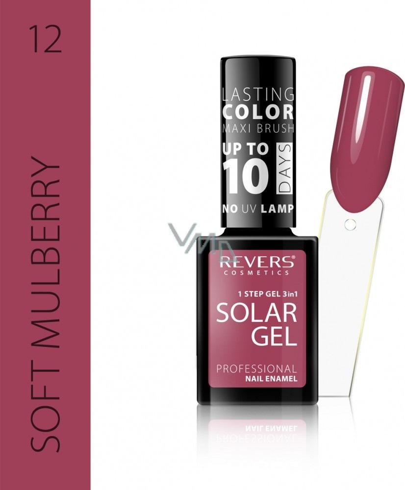Revers Solar Gel Gelovy Lak Na Nehty 12 Soft Mulberry 12 Ml Vmd Drogerie A Parfumerie