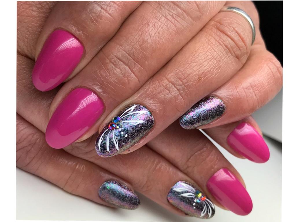 Chameleon Efekt Diamondnails Nail Art Shop Prodej Luxusnich Ozdob A Pomucek Na Nehty