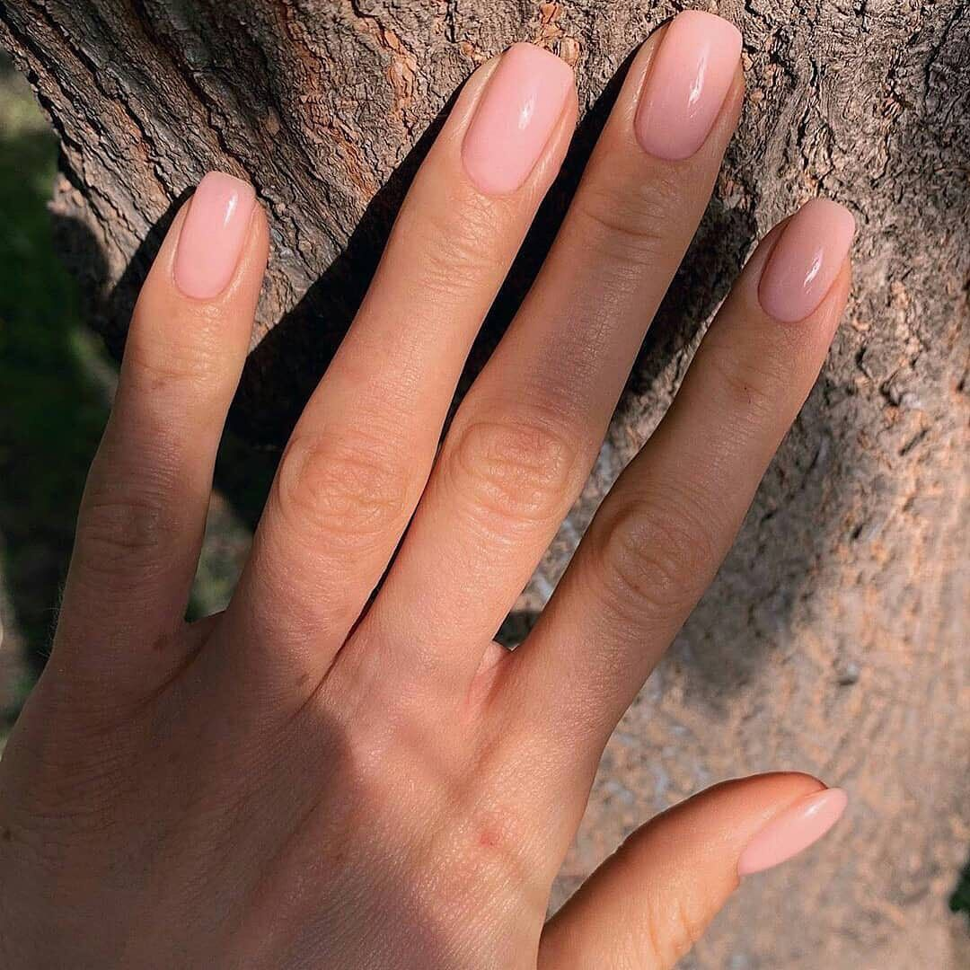 Suitable For Everyday Natural Nails Ideas In 2020 Manicure Pink Nails Pretty Nails