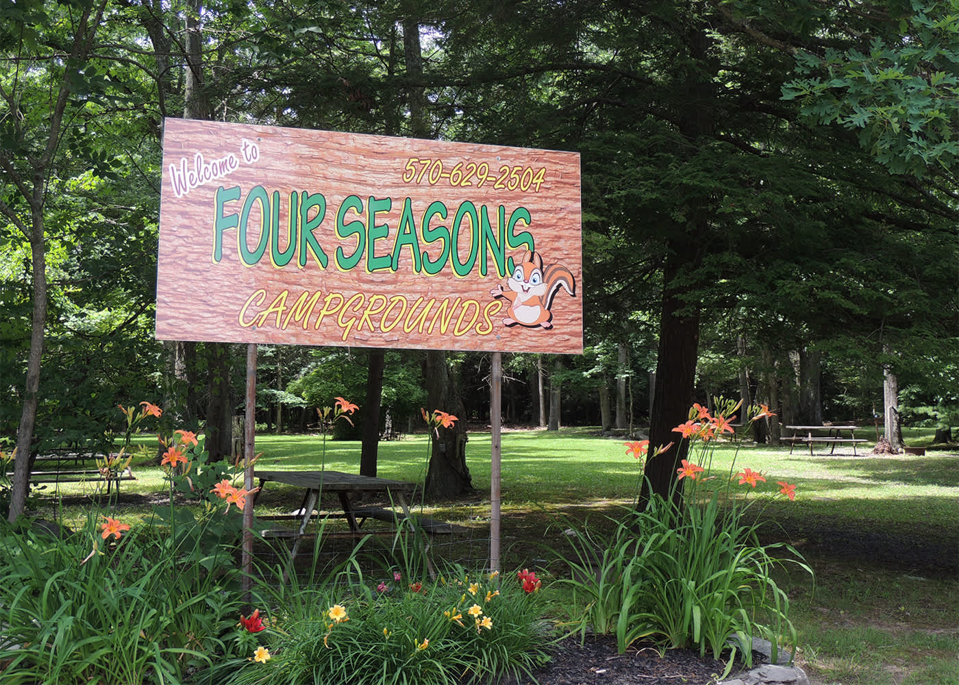 Four Seasons Campgrounds Scotrun Pa 18355