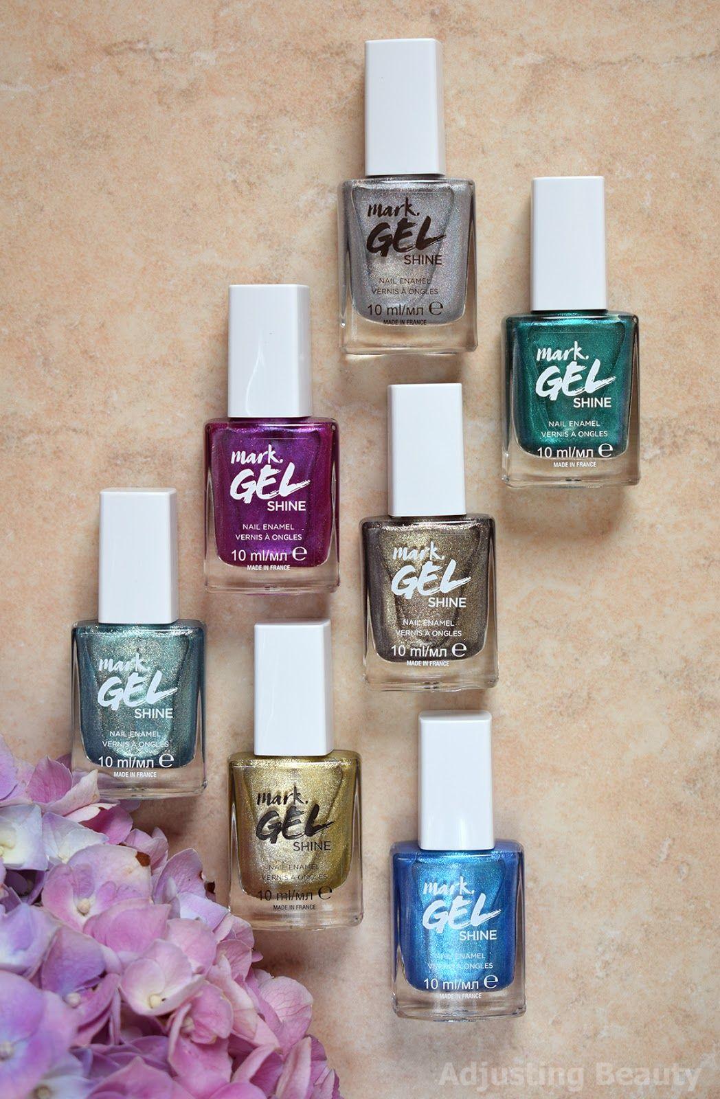 Review Avon Mark Gel Shine Nail Enamel Chrome And Holographic Avon Esmalte Esmalte De Gel Kit De Maquiagem