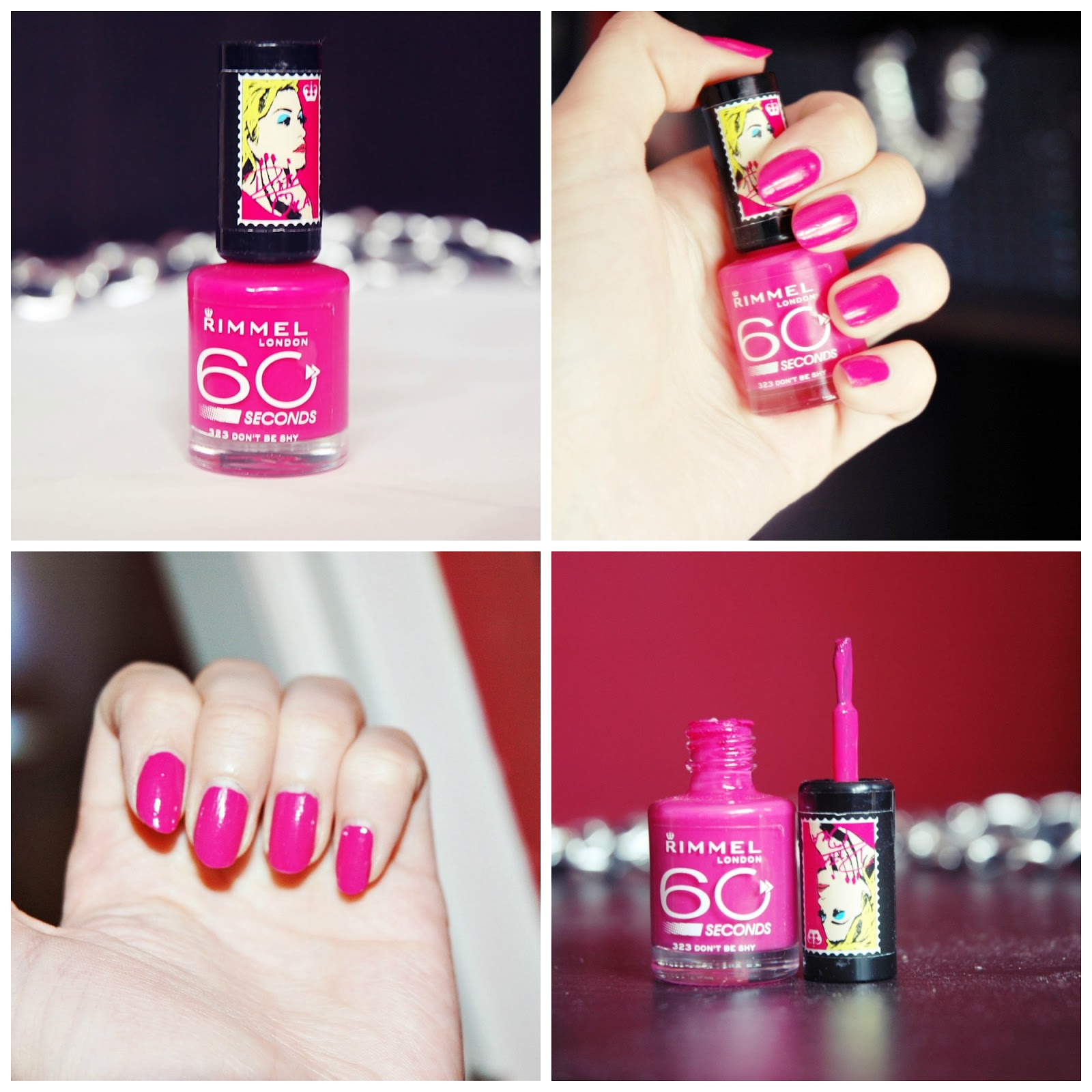 Paznokcie Rimmel 60 Seconds By Rita Ora 323 Don T Be Shy