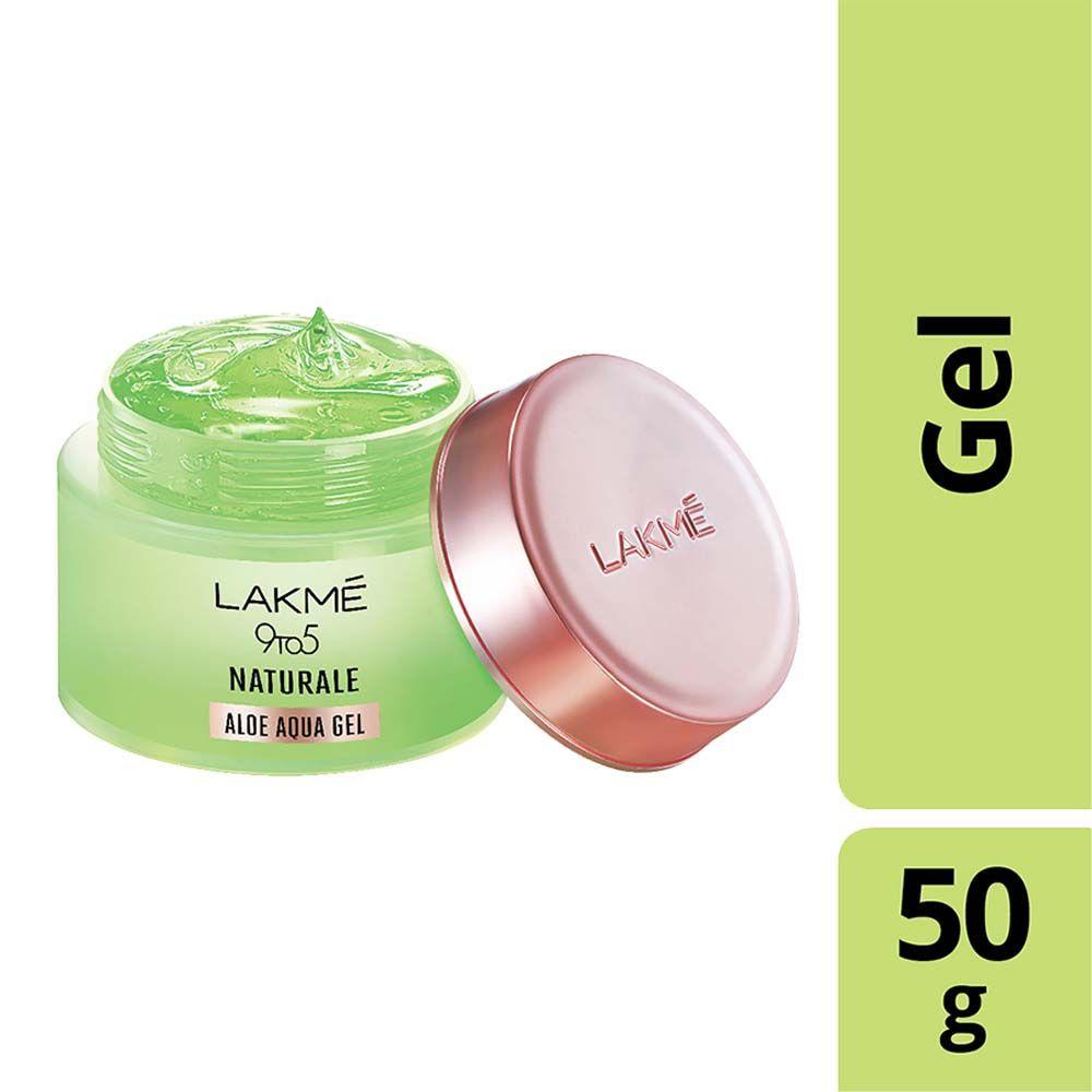 Lakme 9 To 5 Naturale Aloe Aqua Gel Buy Lakme 9 To 5 Naturale Aloe Aqua Gel Online At Best Price In India Nykaa