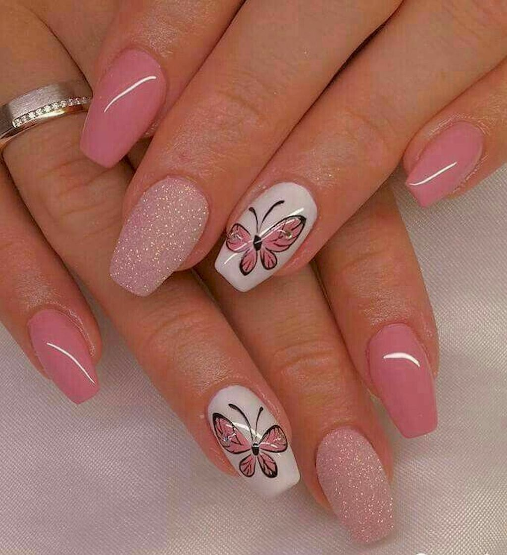 Best 56 Best Nails Art Designs Ideas To Try Https Stiliuse Com 56 Best Nails Art Designs Ideas Try Nai With Images Butterfly Nail Art Best Nail Art Designs Trendy Nails