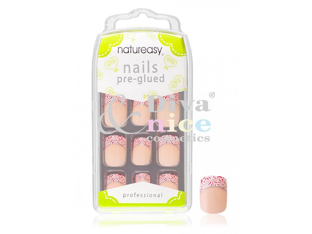 Nalepovaci Nehty Natureasy S Gelem C 01 Diva Nice Cosmetics