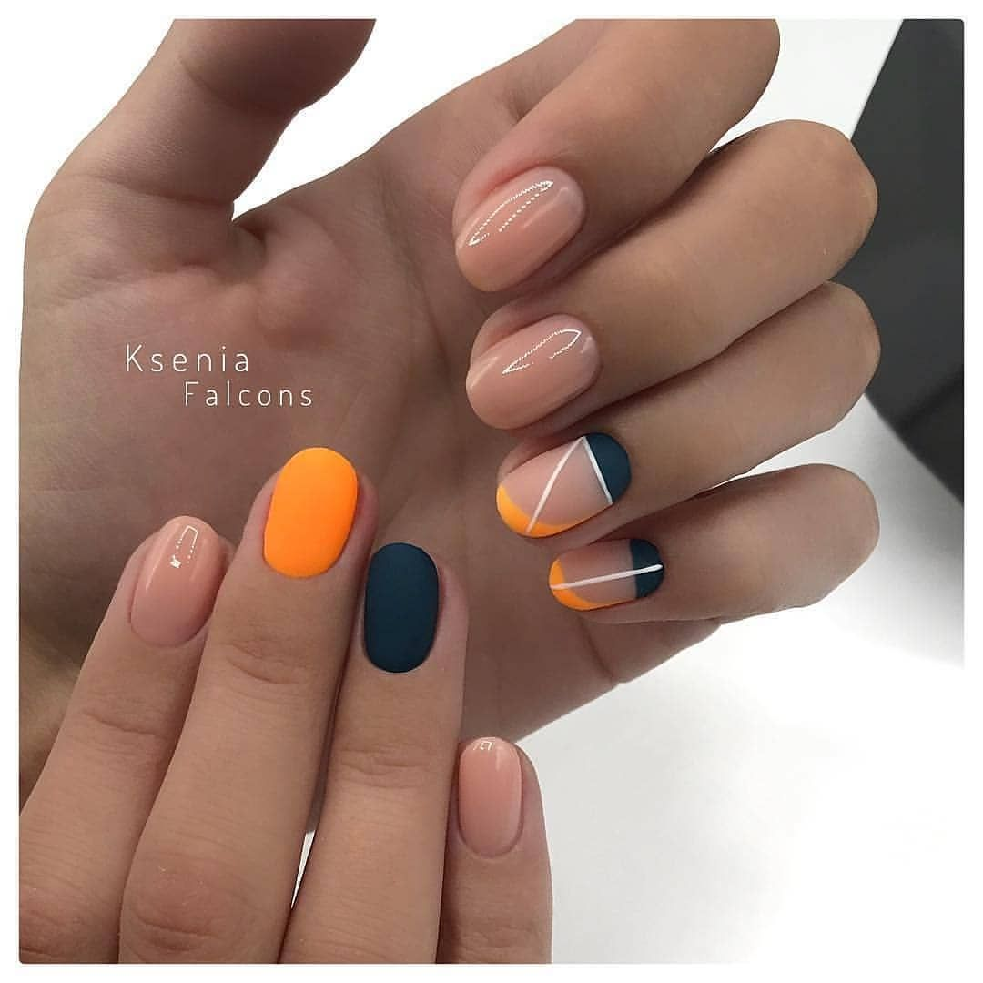 60 Trendy Fall Nail Design Ideas For 2019 Gelove Nehty Design Nehtu A Nehty
