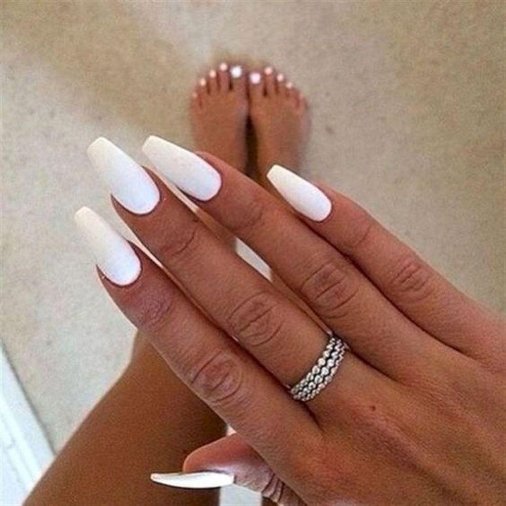 25 Classy Fall Wedding Nail Art Color White Acrylic Nails Fall Acrylic Nails Best Acrylic Nails