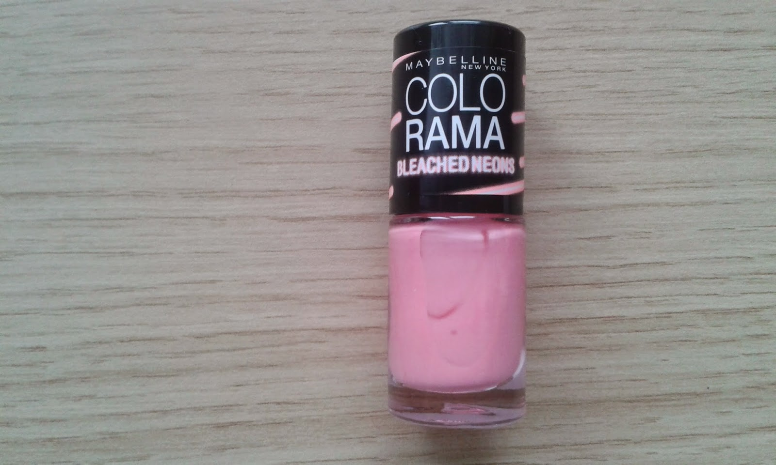 Lak Na Nehty Colorama Maybelline Bleached Neons Stary Blog
