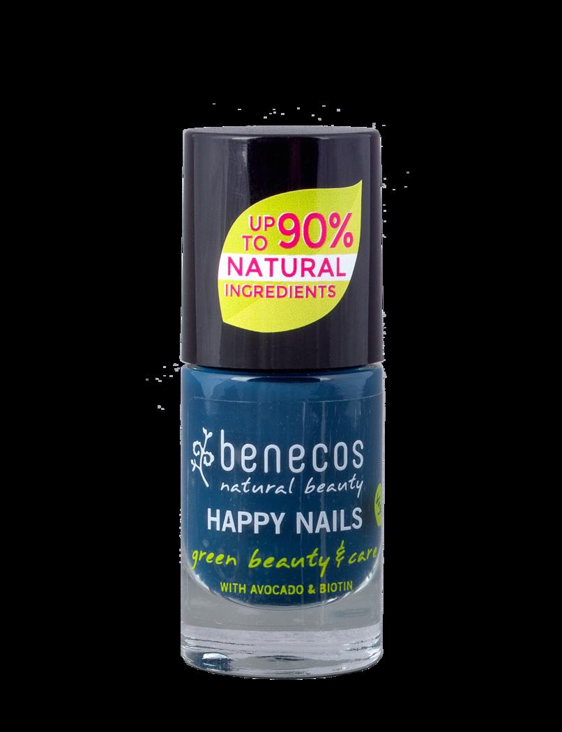 Benecos Lak Na Nehty Nordic Blue 8 Free Dumeko Cz Prirodni Kosmetika A Ekologicka Domacnost