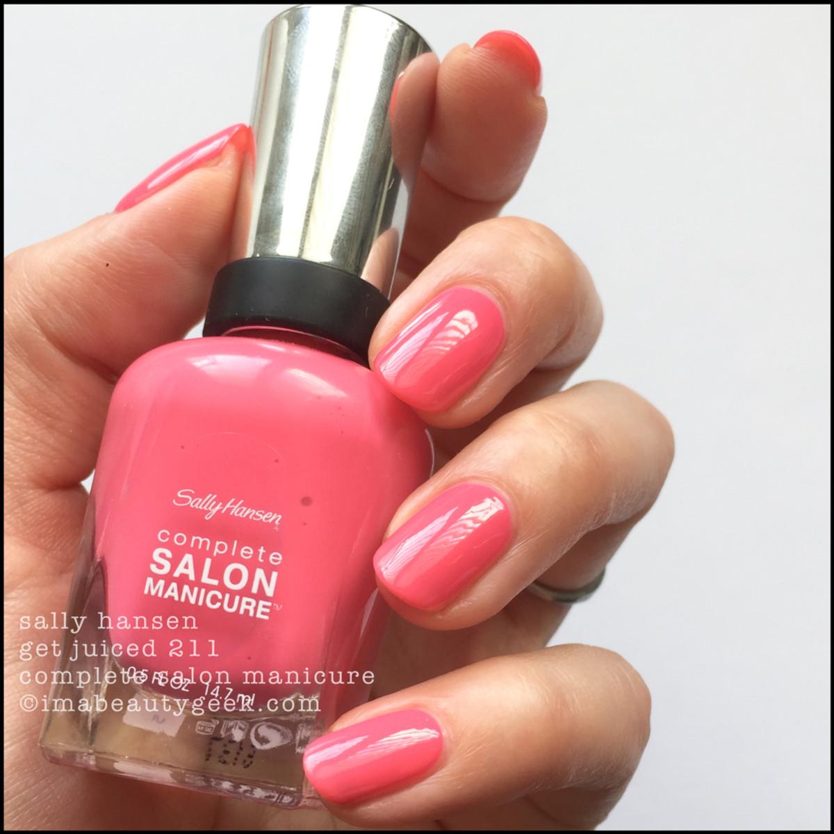 Sally Hansen Summer 2017 Complete Salon Manicure Swatches Giveaway Beautygeeks