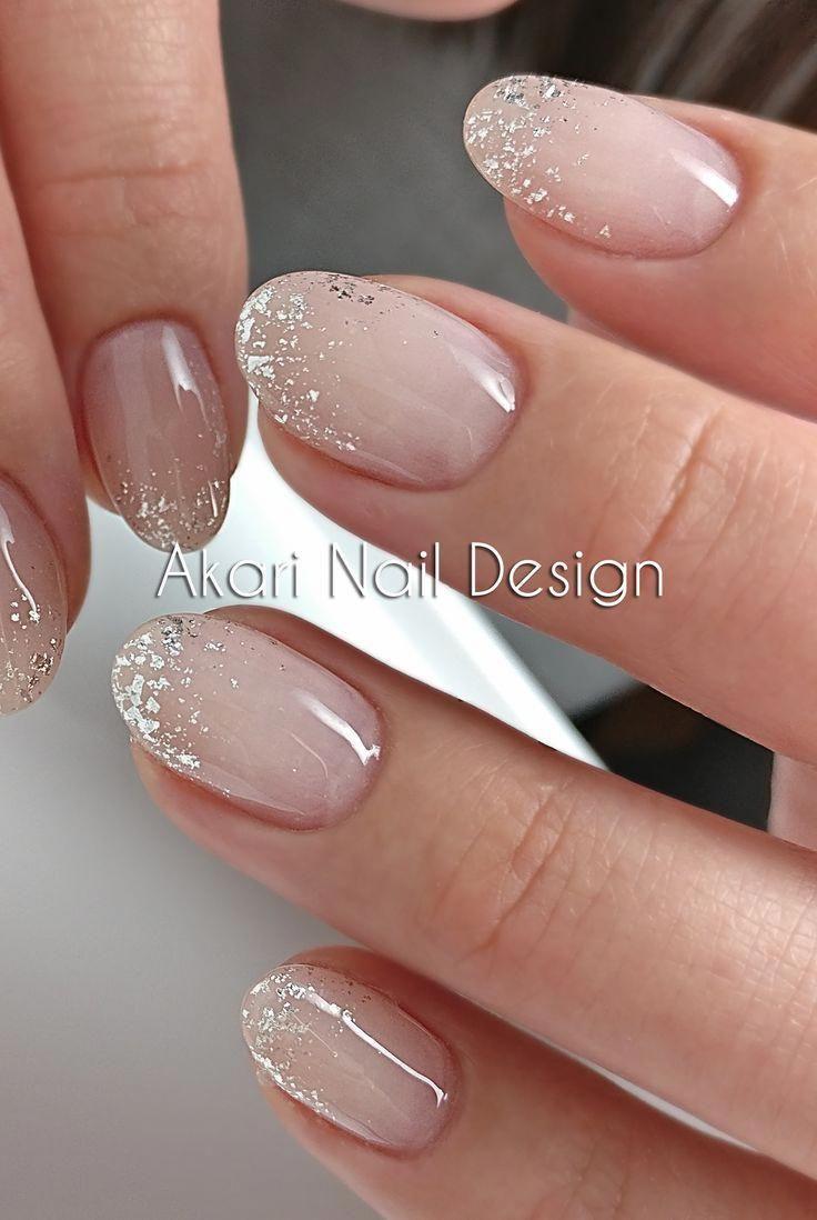 4 Methods To Make A French Manicure On Gel Nails Jednobarevne Nehty Gelove Nehty Ombre Nehty