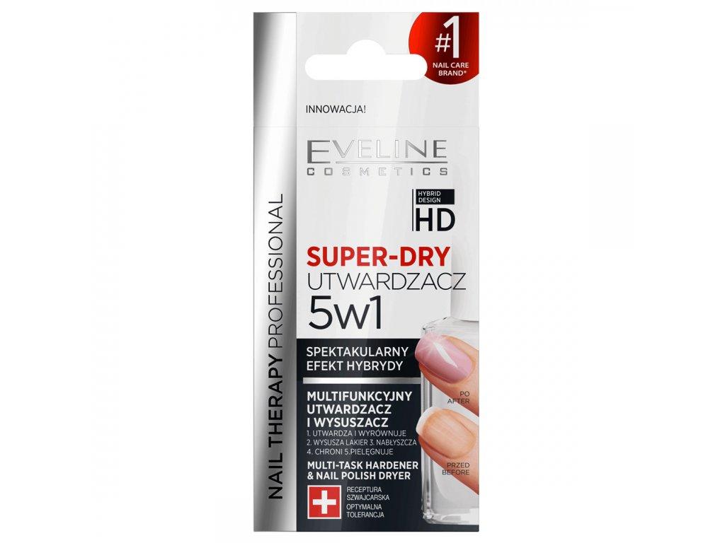 Eveline Cosmetics Nail Therapy Professionalsuper Dry Multifunkcni Vytvrzovac A Urychlovac Schnuti Laku 5v1 Evelio Cz
