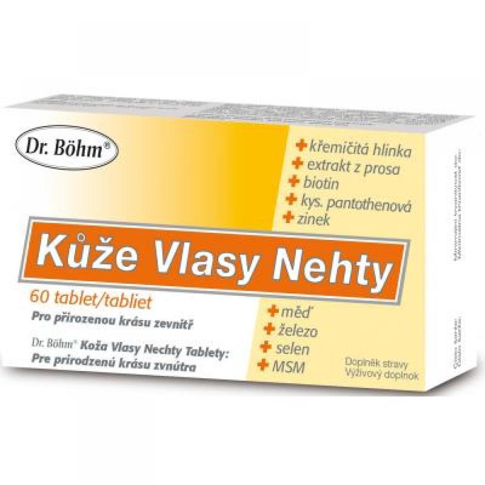 Dr Bohm Kuze Vlasy Nehty 60 Tablet Lekarna Cz