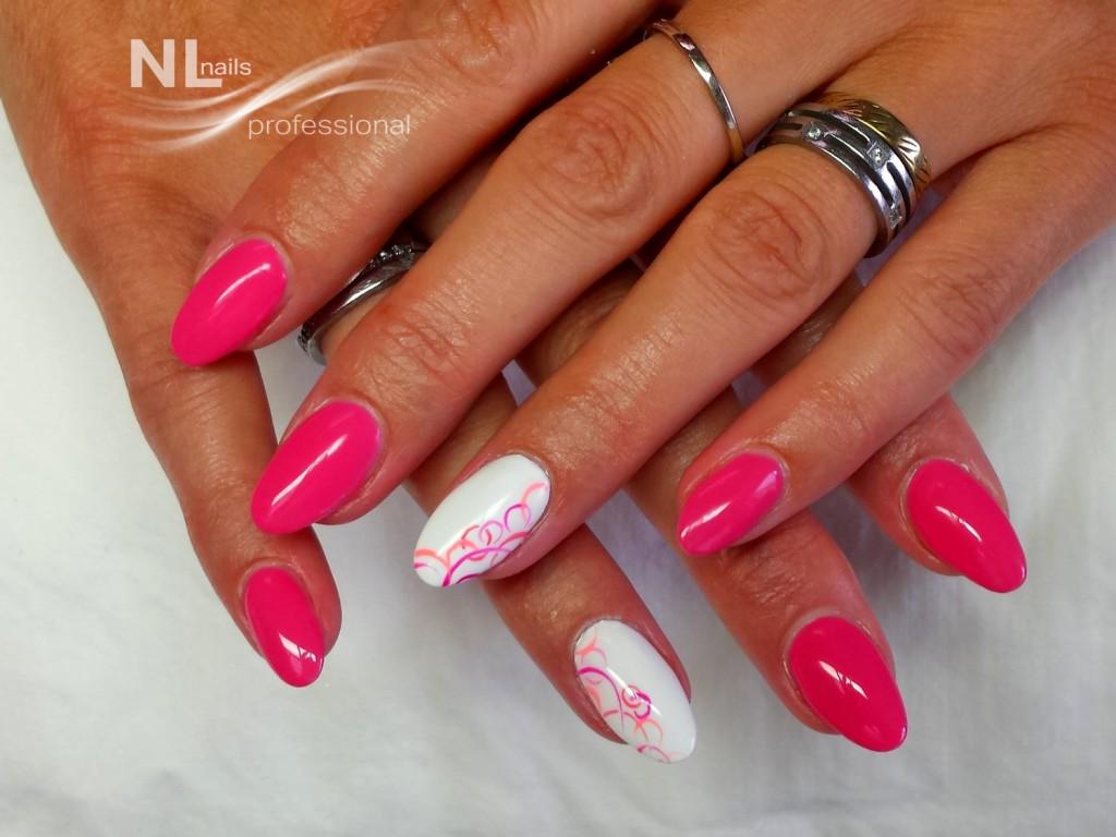 Uv Led Barevny Gel Coral Pink Uv Led Barevne Gely Basic Nl Nails Profesional Profesionalni Pece O Nehty