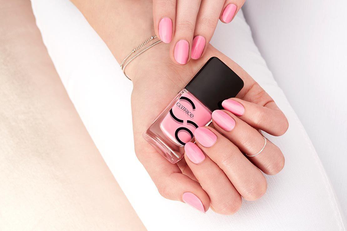 Catrice Iconails Gel Lacquer 30 Keep Calm And Pink Unas Decoradas Unas