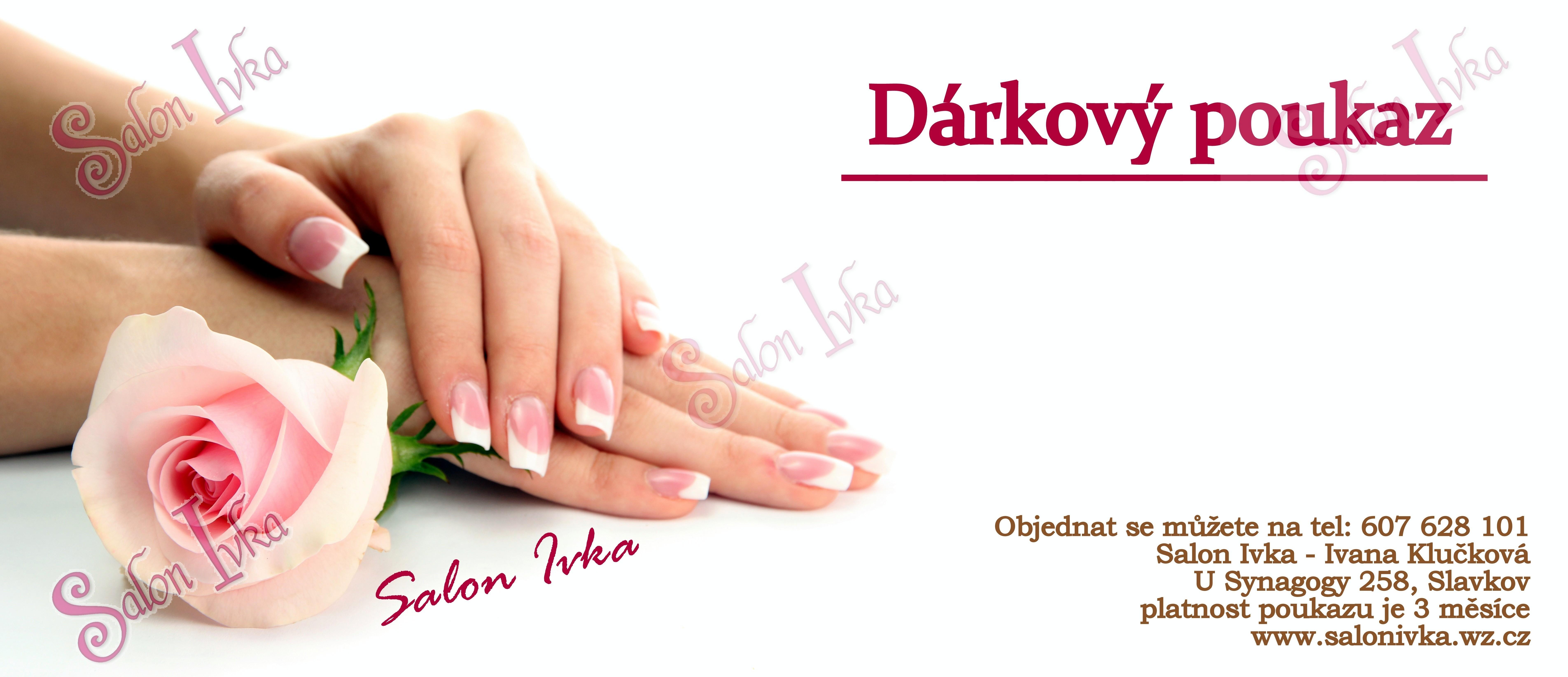 Salon Ivka Darkove Poukazy
