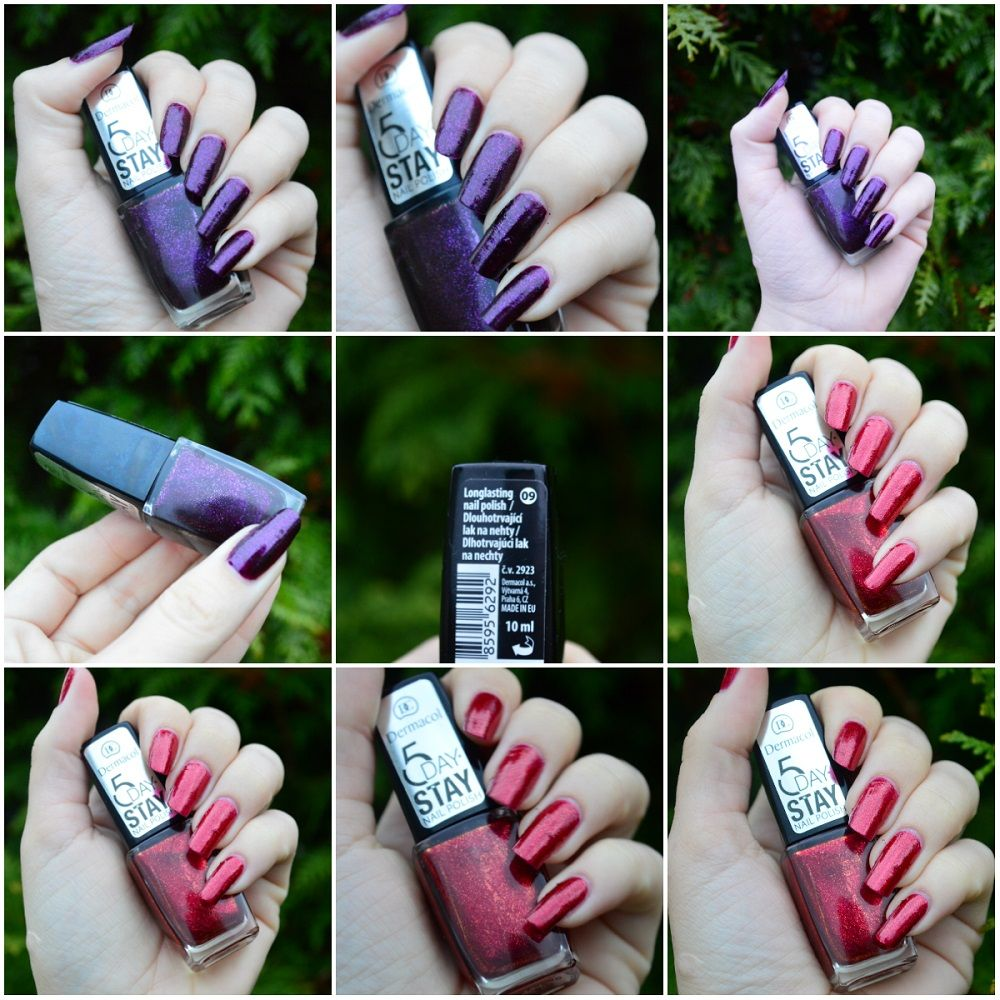 Dermacol 5 Day Stay Laky Na Nechty Kamzakrasou Sk Beauty Cosmetics Cosmetics Beauty