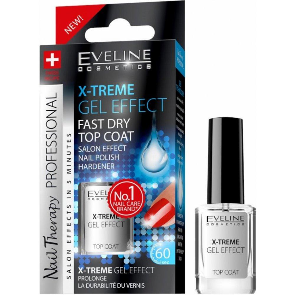 Eveline Cosmetics Nail Therapy Kryci Lak Na Nehty Pro Lesk X Treme Gel Effect 12 Ml Heureka Cz