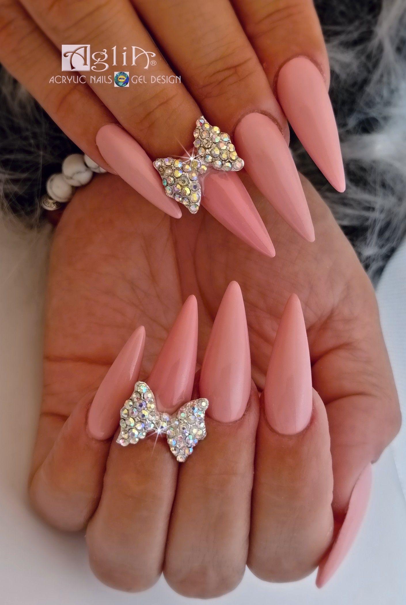 Acrylic Nails Gel Design Gel Designs Work Nails Gel Nails