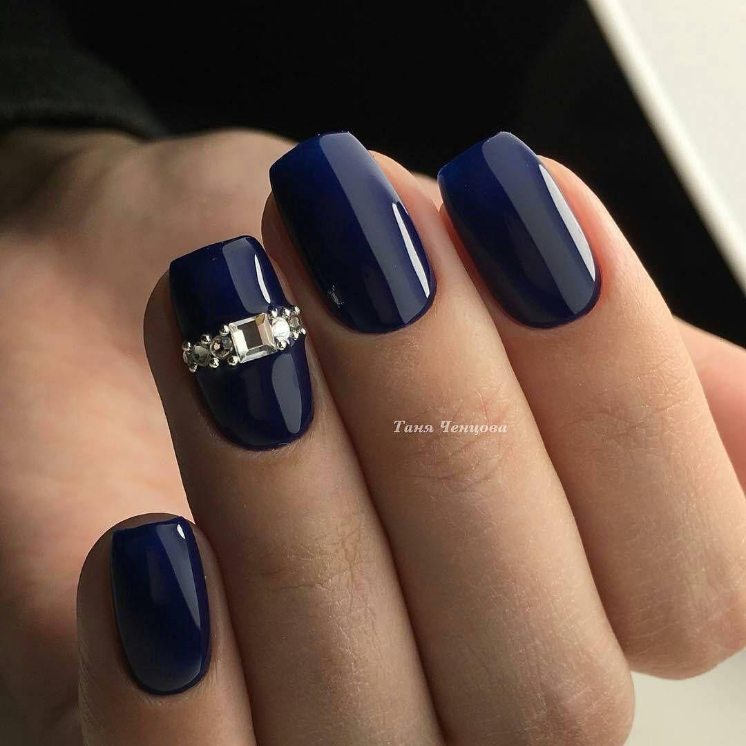 Pin By Anya Shaposhnikova On Nails Nehet Jednoduche Nehty Barva Nehtu