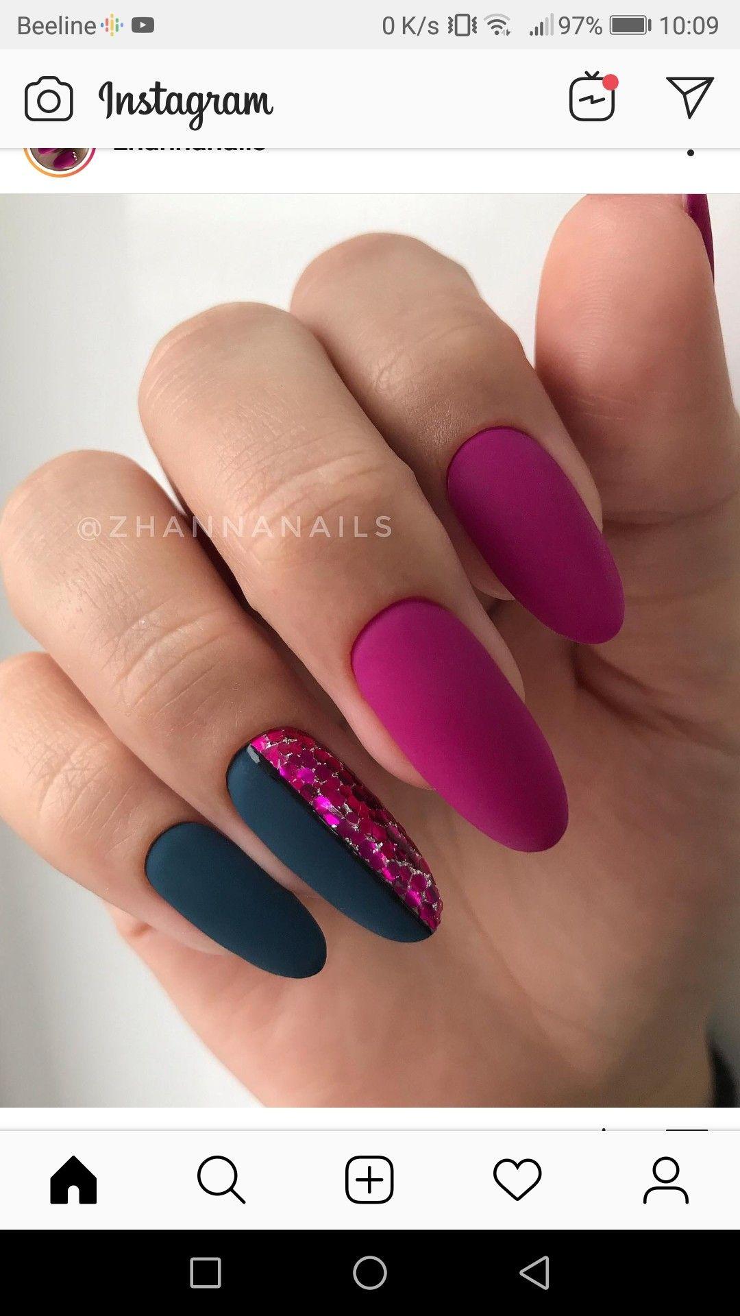 Design Nehtu Image By Miroslava On Nails In 2020 Gelove Nehty Matne Nehty