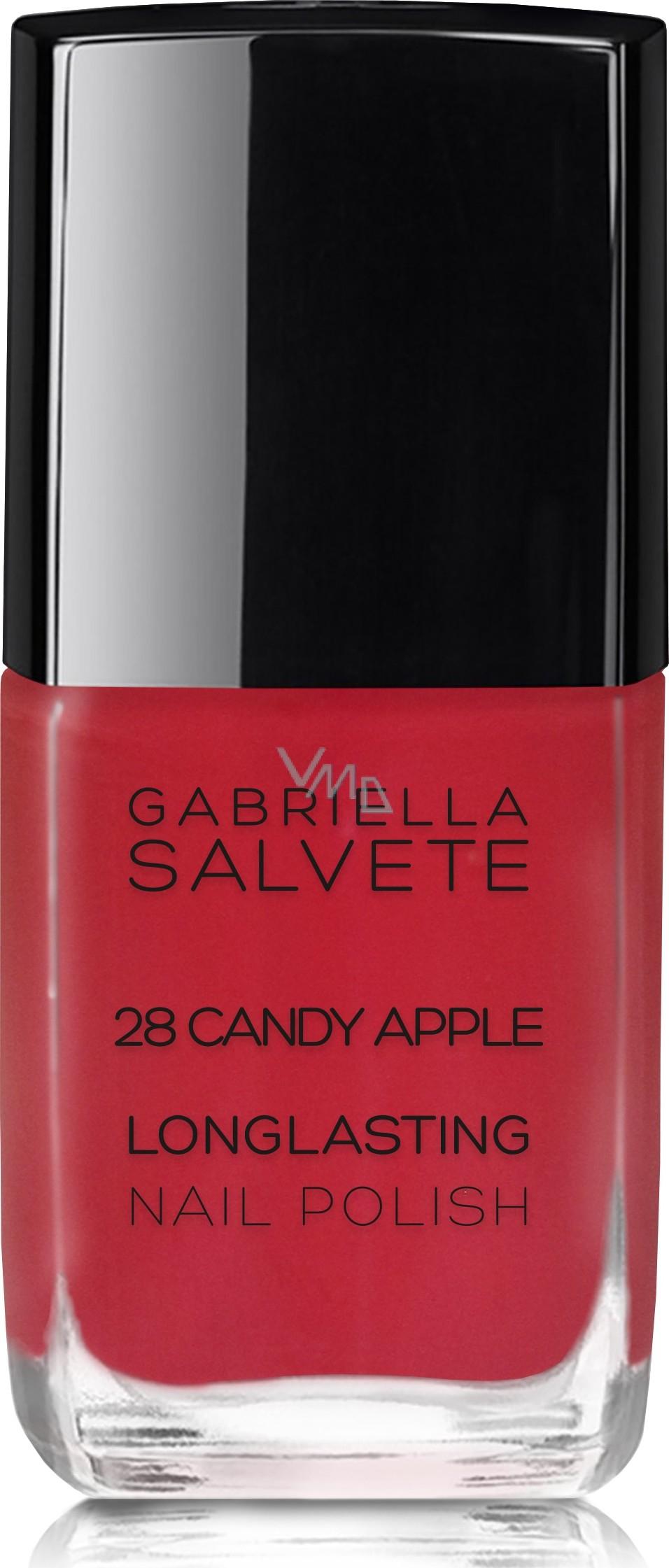 Gabriella Salvete Longlasting Enamel Dlouhotrvajici Lak Na Nehty S Vysokym Leskem 28 Candy Apple 11 Ml Vmd Drogerie A Parfumerie