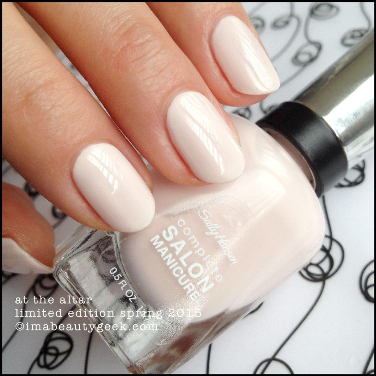 Sally Hansen Limited Edition Bridal Shades 2015 Paznokcie Lakier