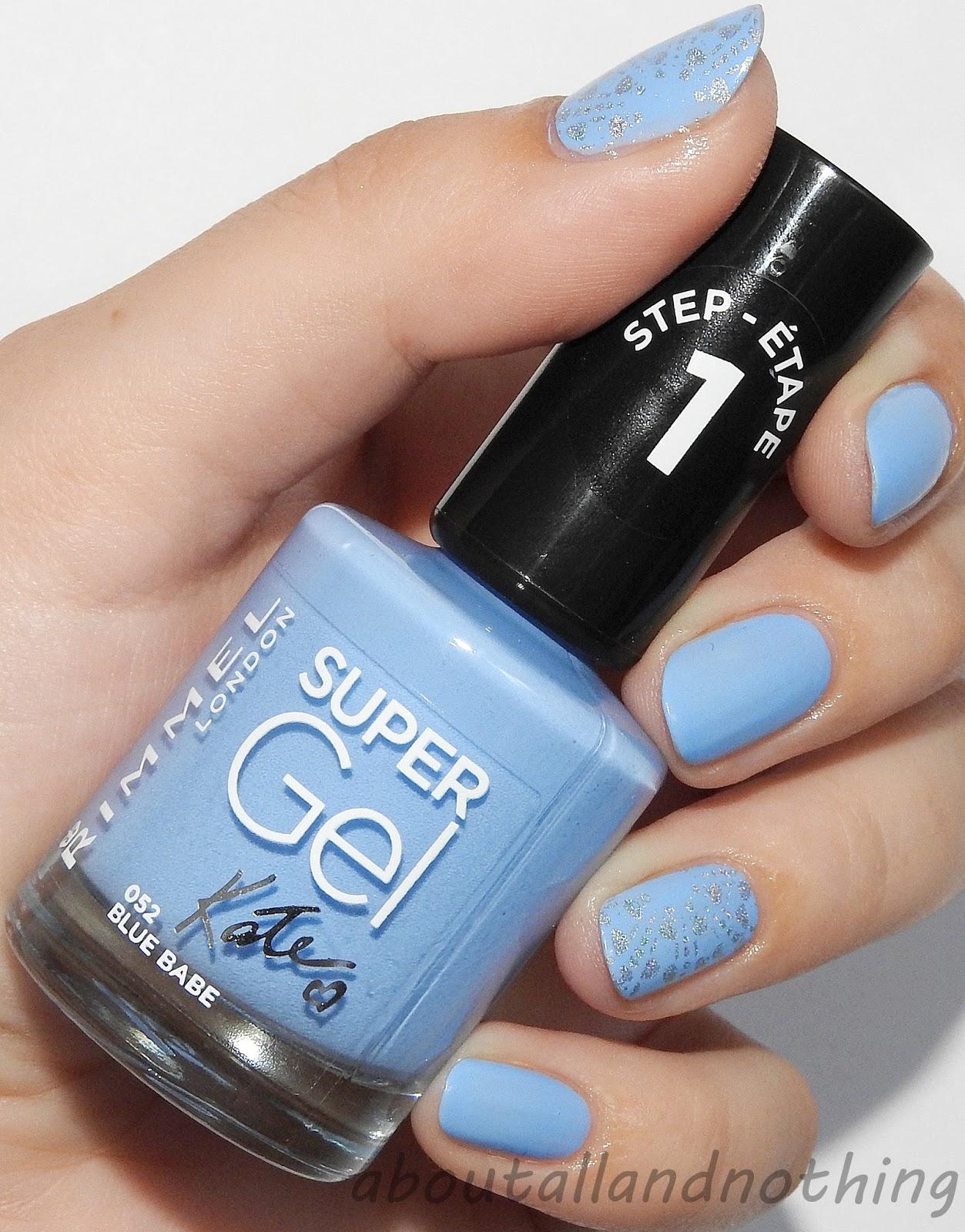 Rimmel Super Gel 052 Blue Babe
