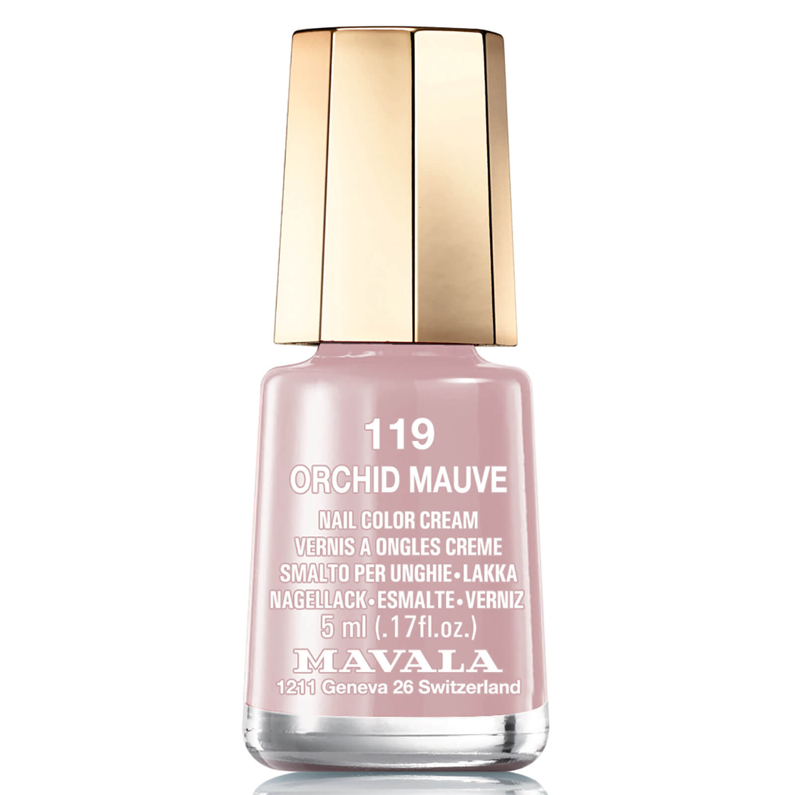 Mavala Nail Colour Orchid Mauve 5ml Free Shipping Lookfantastic