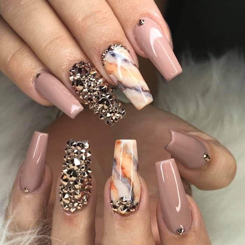 36 Must Try Acrylic Nail Design 2019 In 2020 Gelove Nehty Nehty Mramorove Nehty